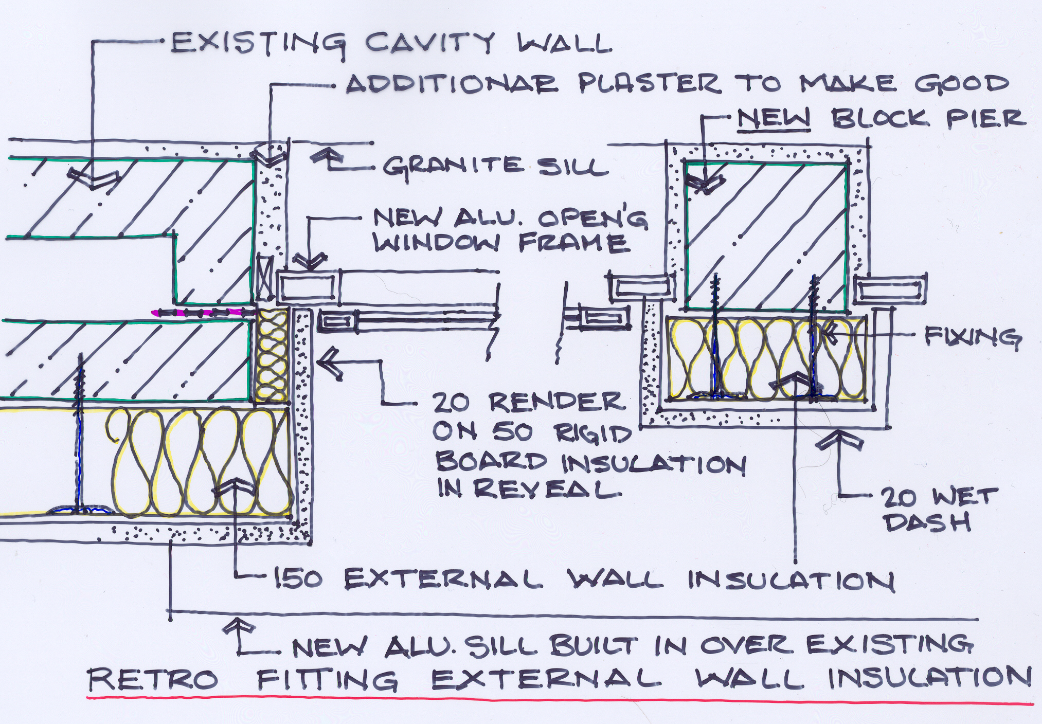 Exterior window insulation for Window insulation
